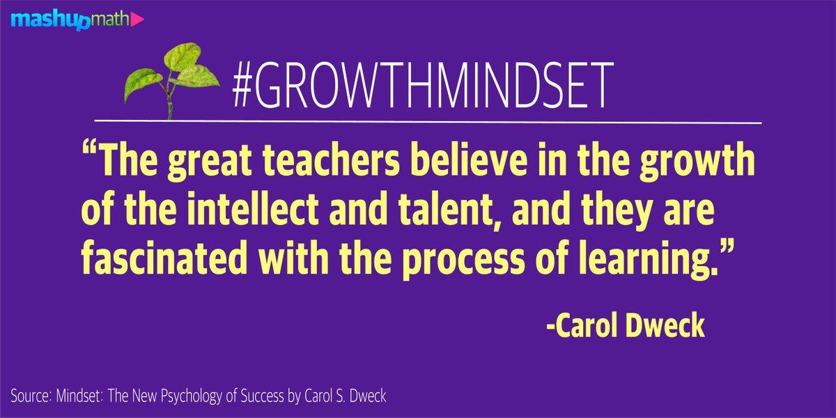 Great teachers believe in growth, not fast results! #growthmindset https://t.co/lJWsHPEnq2