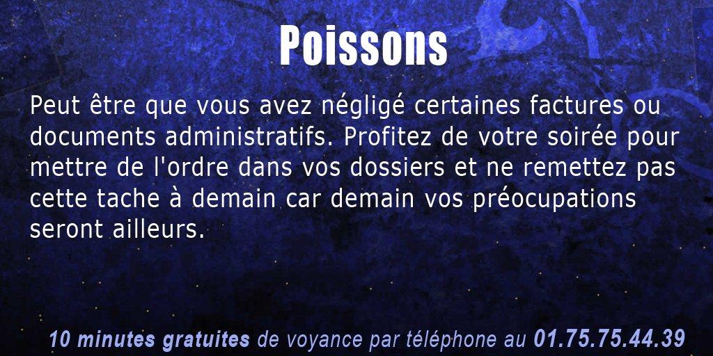 #Horoscope pour les #Poissons <br>http://pic.twitter.com/7jMrfrF2Pw