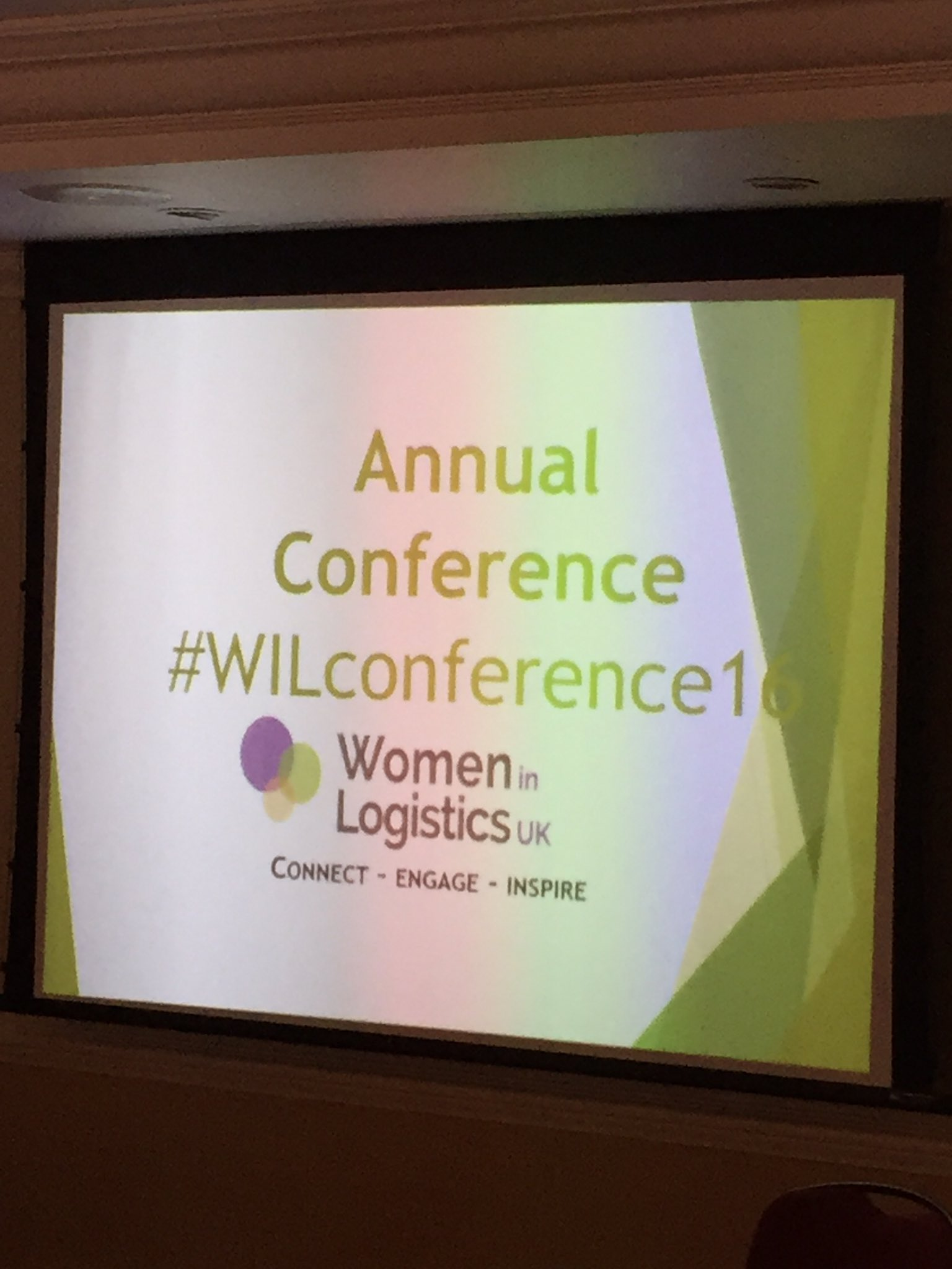 Looking forward to the #WILconference16 today! Great line up of speakers! https://t.co/YTzCItcVRH
