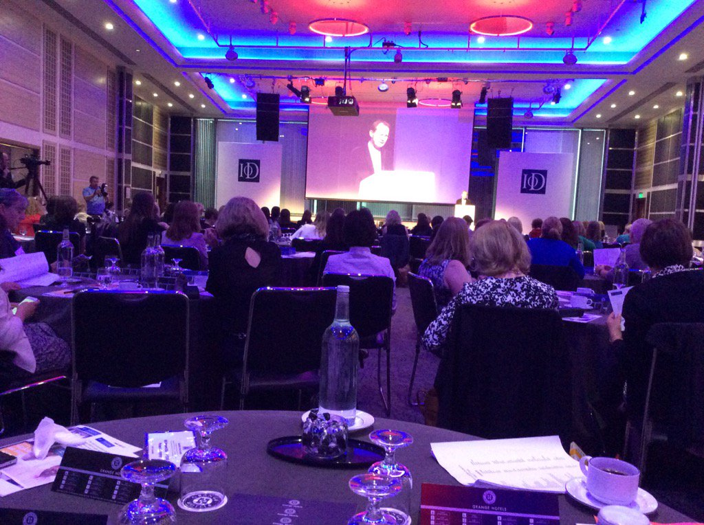 Introduction by Simon Walker #IoDWAL Shift focus on pipeline for senior positions for #women https://t.co/6bHYGYkCqe