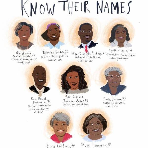On this date June 17 in 2015: #CharlestonShooting #NeverForget https://t.co/oiKkSRBxCA