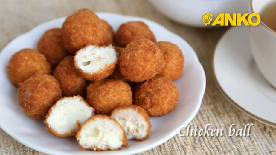 Anko Food Machine On Twitter How To Make Chicken Ball By Anko Food