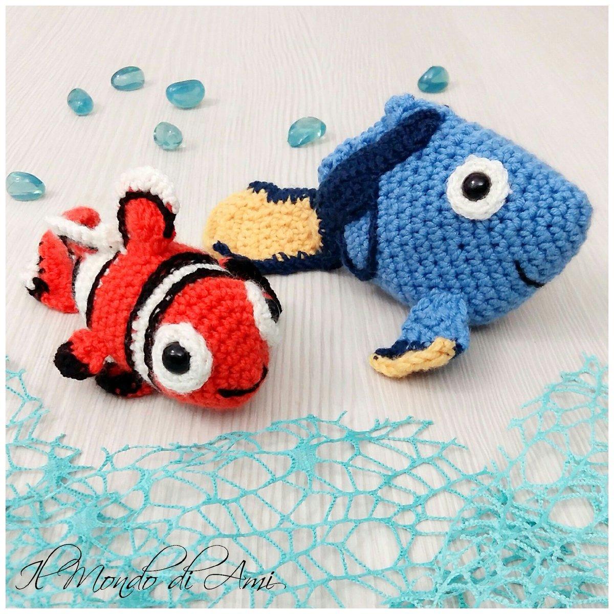 10+ Cutest Finding Dory Crochet Patterns | BeesDIY.com | 1200x1200