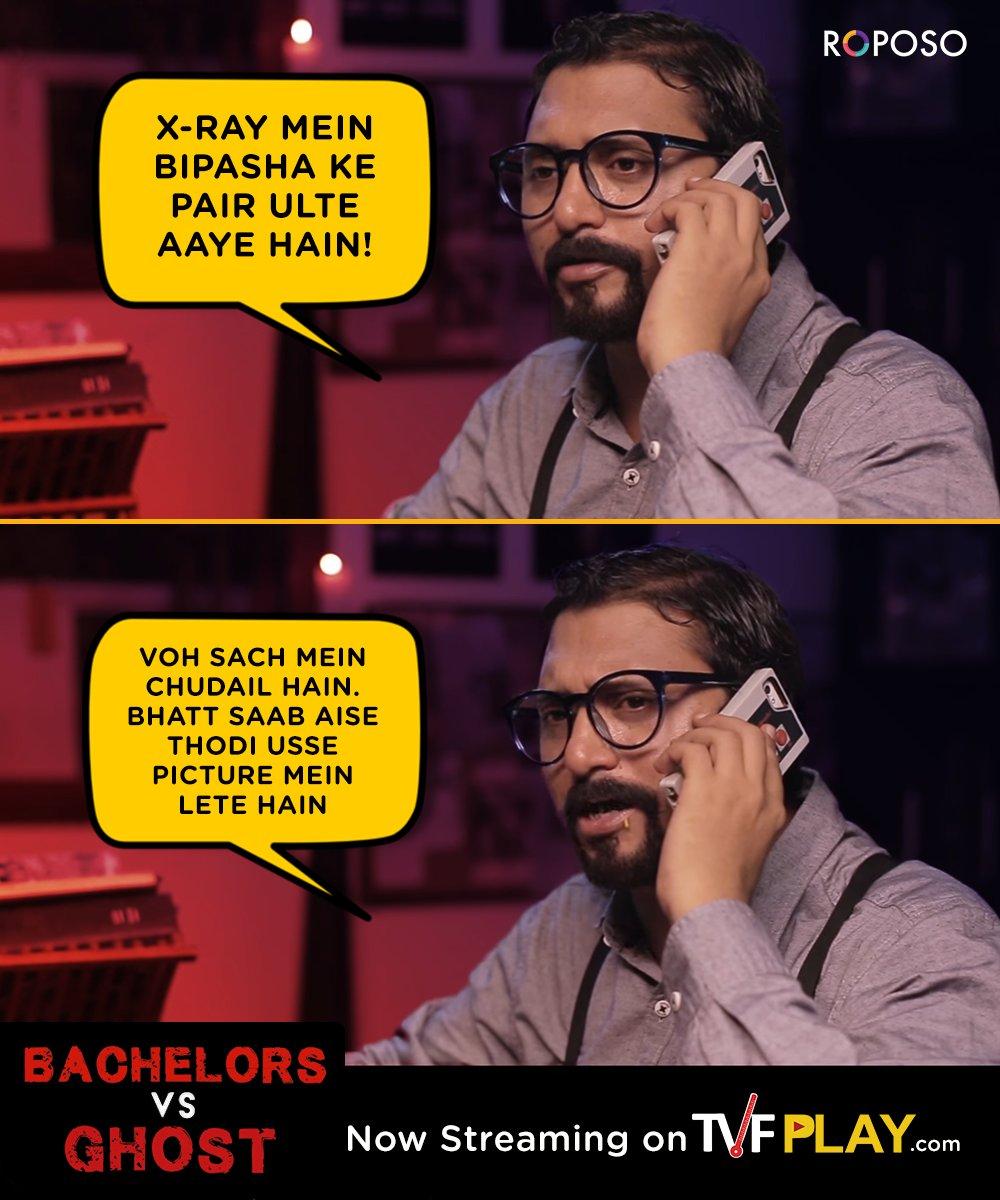 Bhatt saab sahi parkhe hai... #TVFBhootiyapa Watch Bachelors Vs Ghost - bit.ly/bhootiyapa