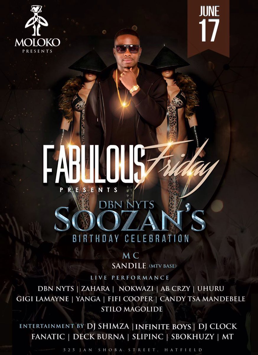 Its really going down 2nyt... @molokopretoria #FabulousFriday #WeArePTA https://t.co/3qad4EkQUA