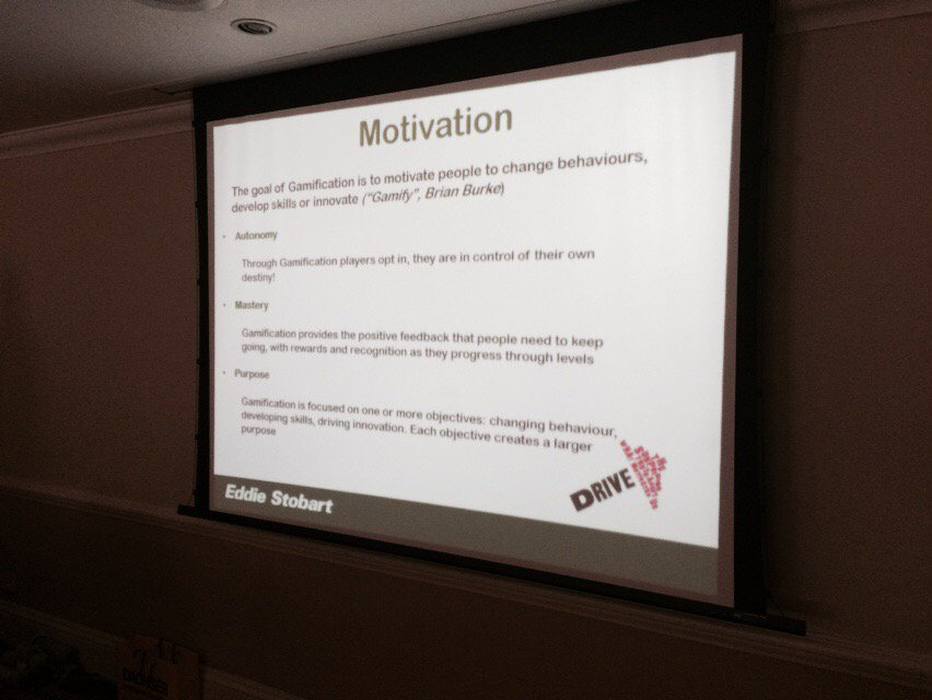 Here's @IsherwoodAmy talking about #motivation and dopamine in gamification @WomenInLogistic #wilconference16 https://t.co/ExGIoMPWWc