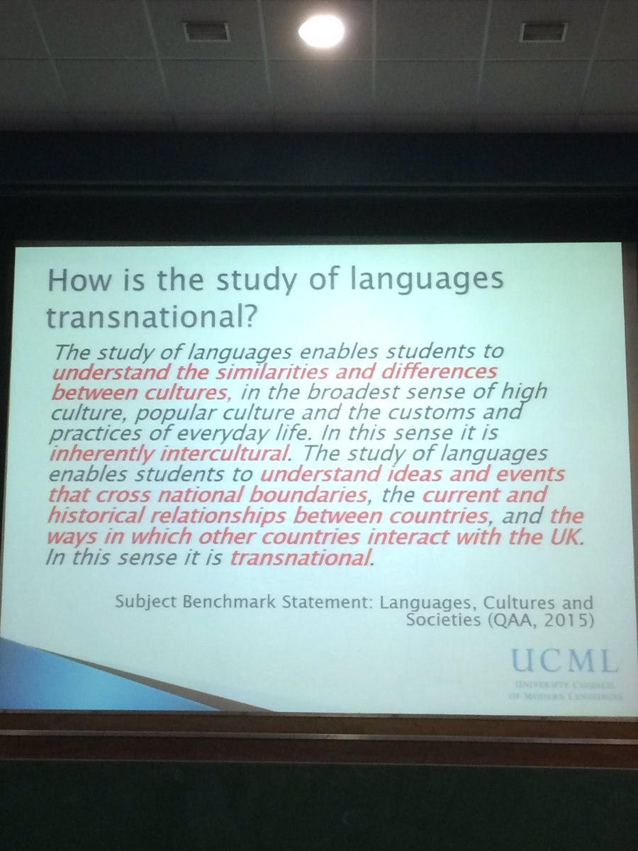 #innoconf16 make students understand what makes them stand out as a language graduate @UoS_Careers @ModernLangs https://t.co/moQlSrIRx7
