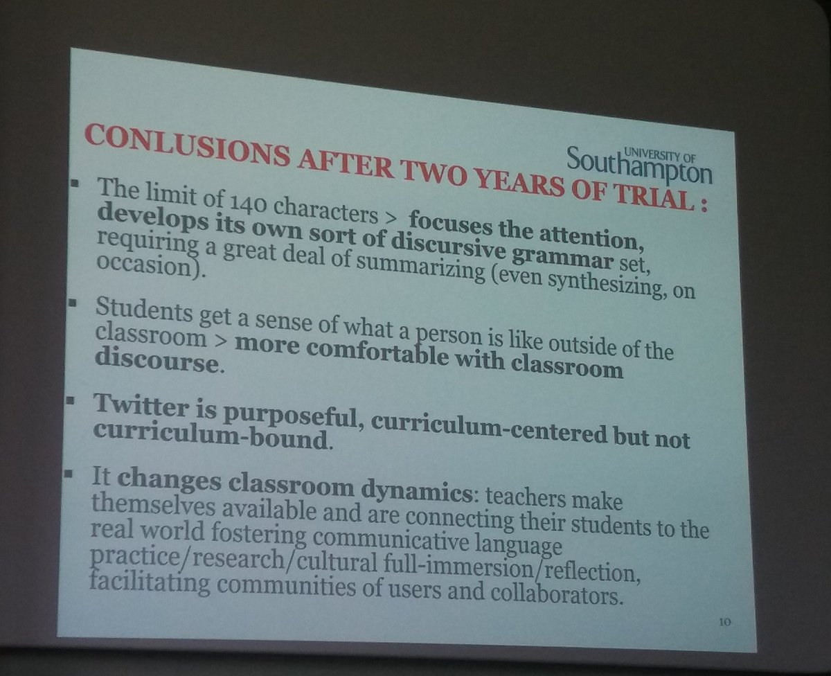 On the use of Twitter for language learning...  #innoconf16 https://t.co/UA4qsxsWtN