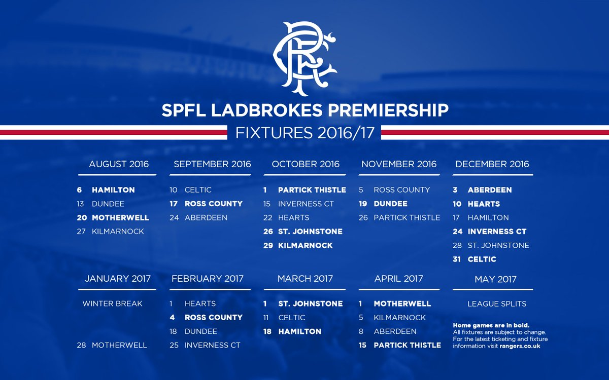 Spfl premiership fixtures and betting x factor odds comparison betting