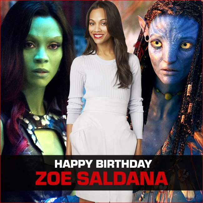 Movies Now On Twitter Happybirthday Zoe Saldana It S Ok To Say