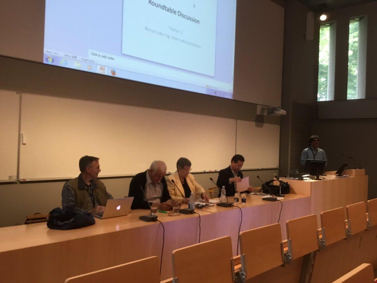 Distinguished panel at #UniversityFutures @AarhusUni https://t.co/w0PKLVQwec