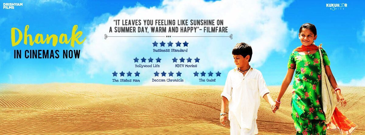 #Dhanak pls watch in theatres and spread the word. We need ur support to make more such  braveheart films https://t.co/ECERolAKqK