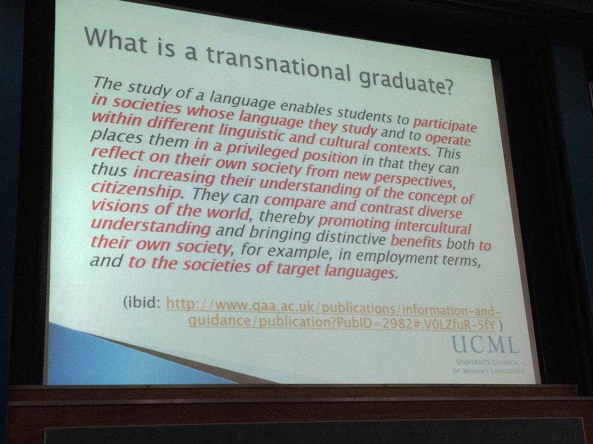 #innoconf16 Jocelyn Wyburd chair of UCML on transnational graduates https://t.co/mlTWfvvOl4
