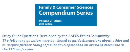 @AAFCS #Ethics #Community presenting study guide questions compendium on ethics #AAFCSAc  https://t.co/dWJcYMQtbN https://t.co/VnR3vU7QEQ