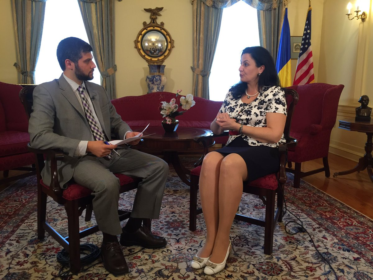 For @defense_news our @AaronMehta interviews @IKlympush at @UKRintheUSA . #DNTV airs July 3.