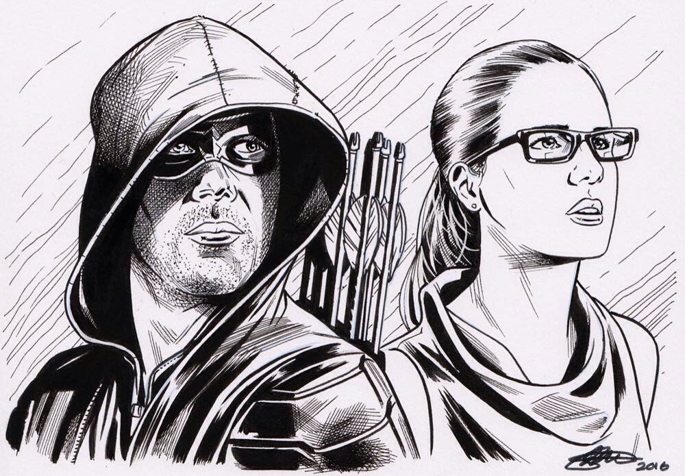 @ARROWwriters done by my mate @davidgoldingart https://t.co/44jbGautyt
