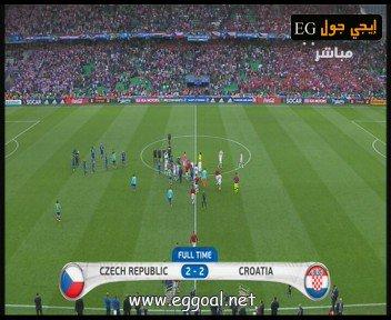 اهداف مباراة التشيك و كرواتيا Czech Republic vs coratia