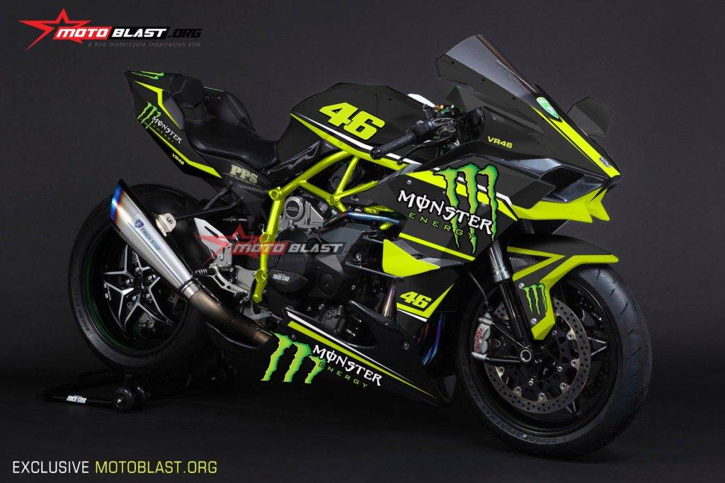 Blog Motoblast On Twitter Moge Series Graphic Kit Kawasaki Ninja H2R Black Monster Tco C2yKcdkPk9