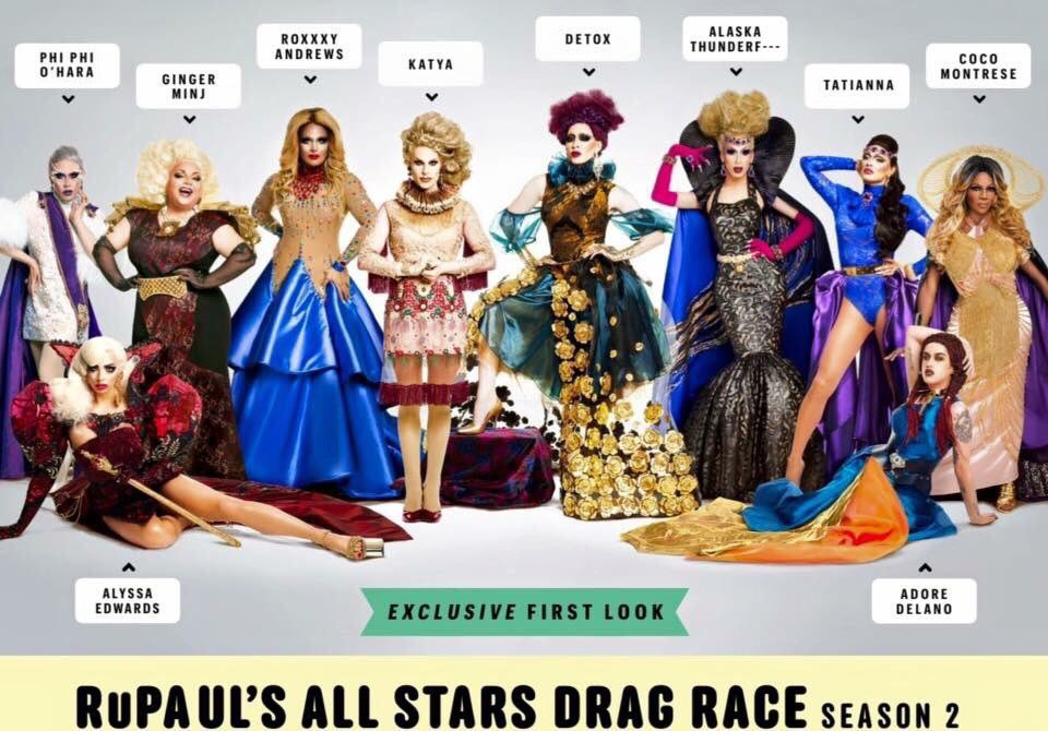 @RuPaulsDragRace who is ready for #AllStars2?! All my sisters look sicknin in this photo. https://t.co/BC1mekdPiQ