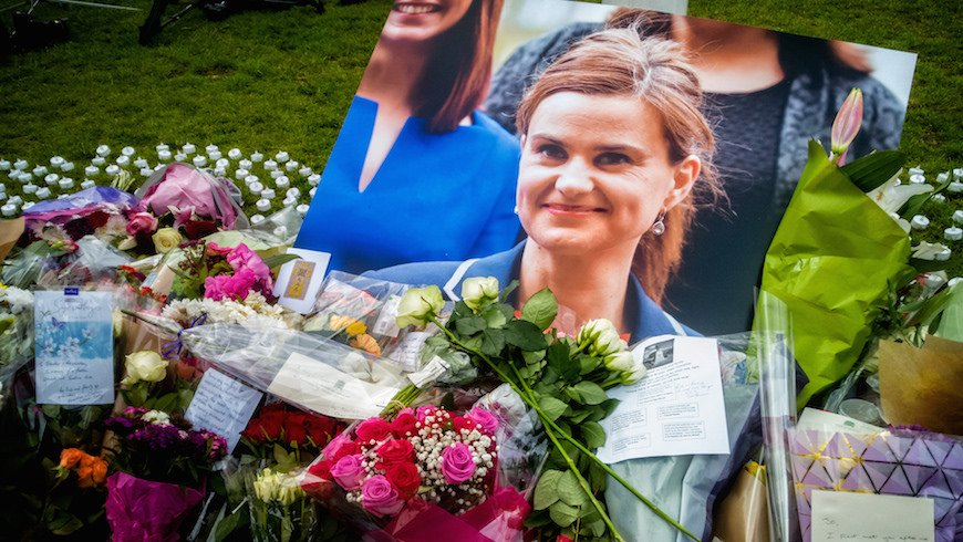 The world lost a #globalhealth advocate, gained disillusionment, when #JoCox died Thursday: https://t.co/TJEgGBuEkh https://t.co/ItsloV1vBp