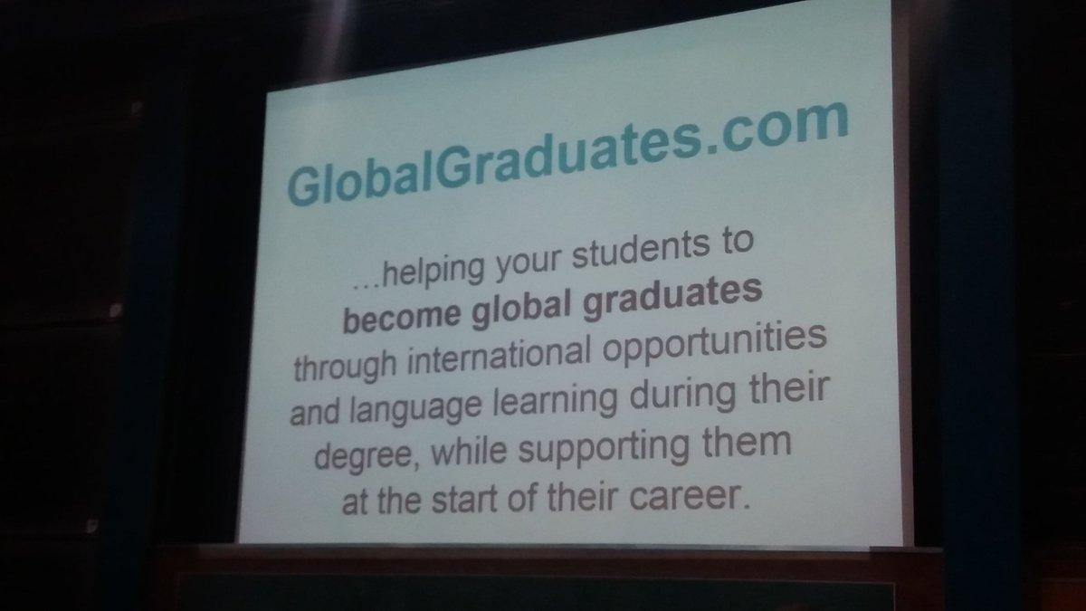 #innoconf16 #LizzieFane from 3rd year abroad to #GlobalGraduates.com https://t.co/y8gasd7yxO