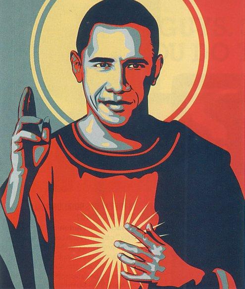 Obama Saint