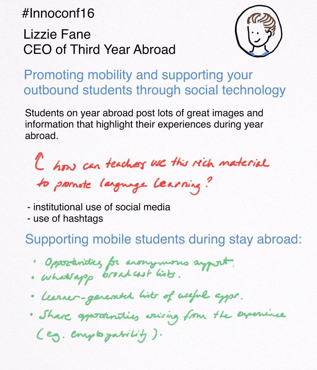 #Sketchnote of Lizzie Fane's talk at #innoconf16 https://t.co/BZkW6xz5Dt