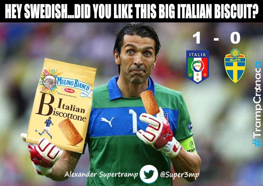 Vignette divertenti dopo Italia-Svezia di Euro 2016