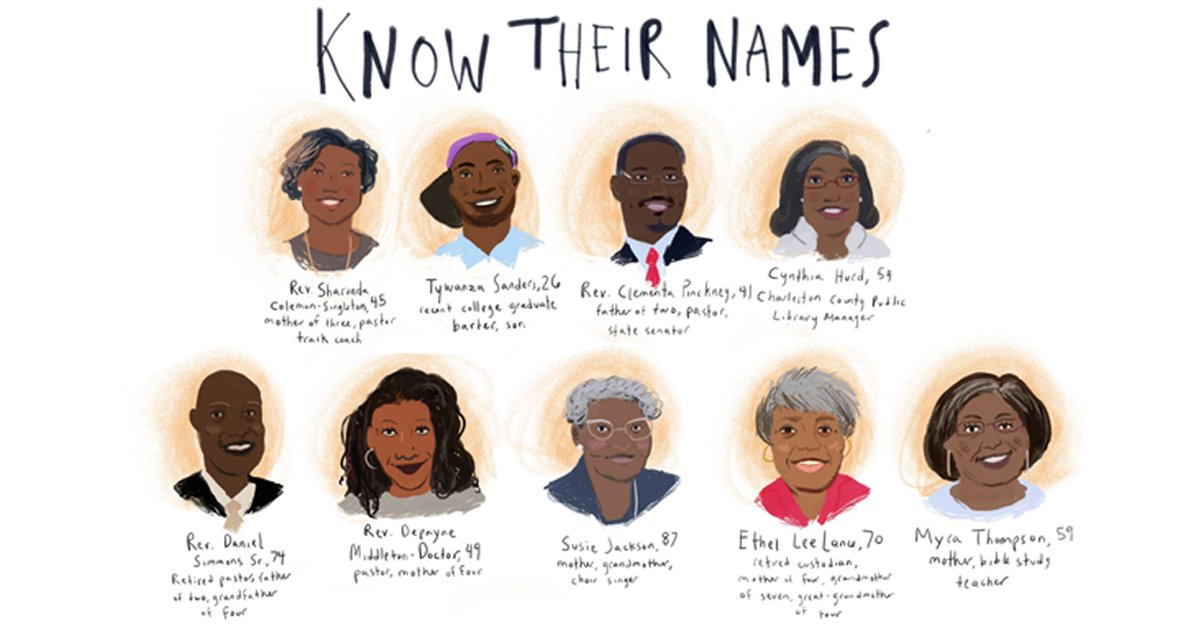 Let all that you do be done in love. #Charleston9 @KTLA https://t.co/dGG24IsBUF #KnowTheirNames https://t.co/2ID3k7jTPS