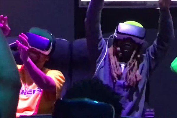 Watch Lil Wayne Freak Out on a Virtual Reality Rollercoaster