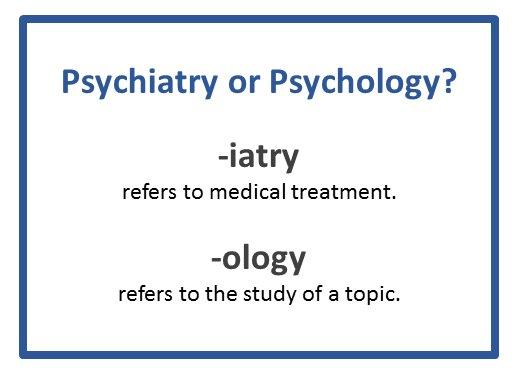 psychologist and psychiatrist similarities