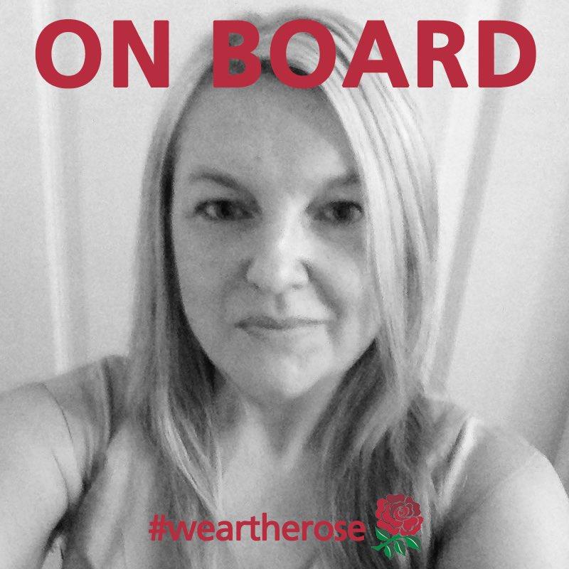 I'm On Board supporting @EnglandRugby vs @qantaswallabies #WearTheRose #OnBoard https://t.co/VxIguKcysV
