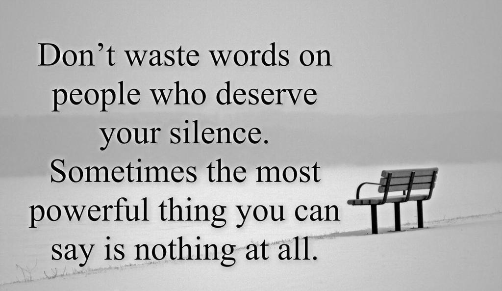 Inspirational Quotes On Twitter Dont Waste Words On People Who
