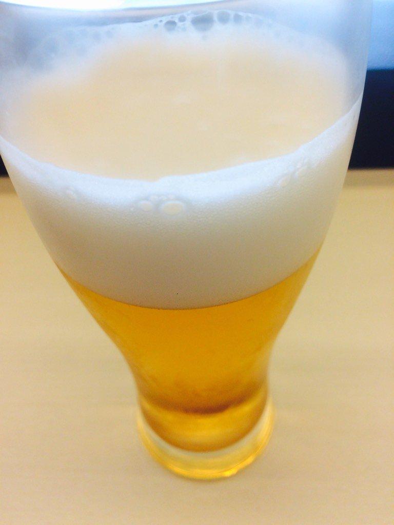 朝からビール美味しい https://t.co/y4iJAMBwQA
