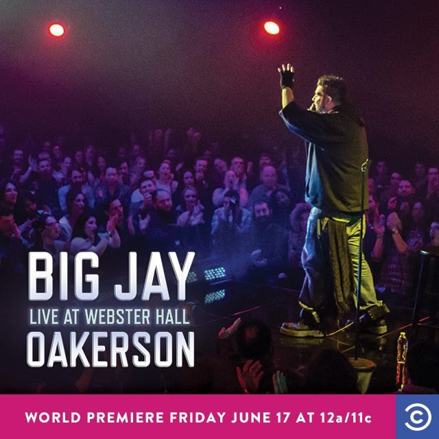 DVR ALERT! @bigjayoakerson is on @ComedyCentral TONIGHT! Tune in at 12a-et / 11p-ct, set your DVRs, or both! https://t.co/nruY8eQTcE