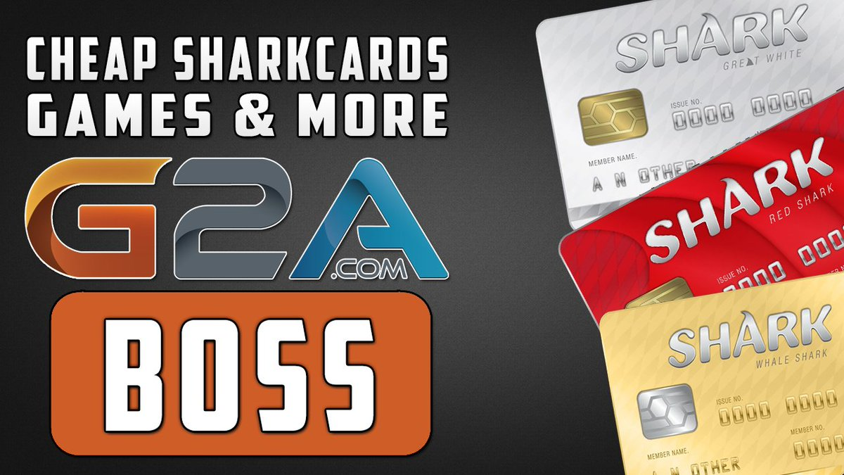 shark card xbox one g2a