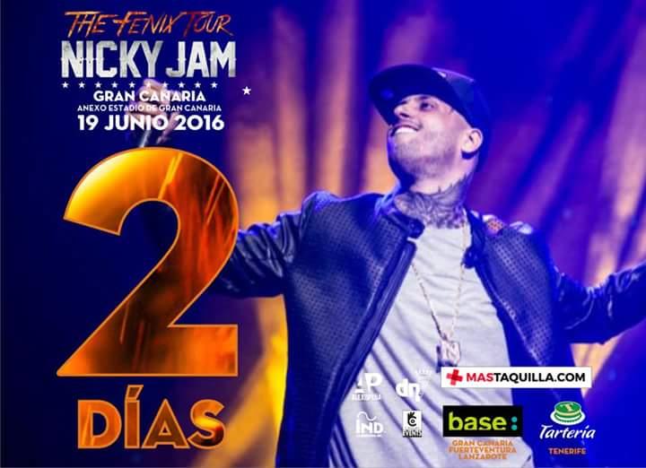 Tic Tac Concierto De Nicky Jam En Canarias. - Magazine cover