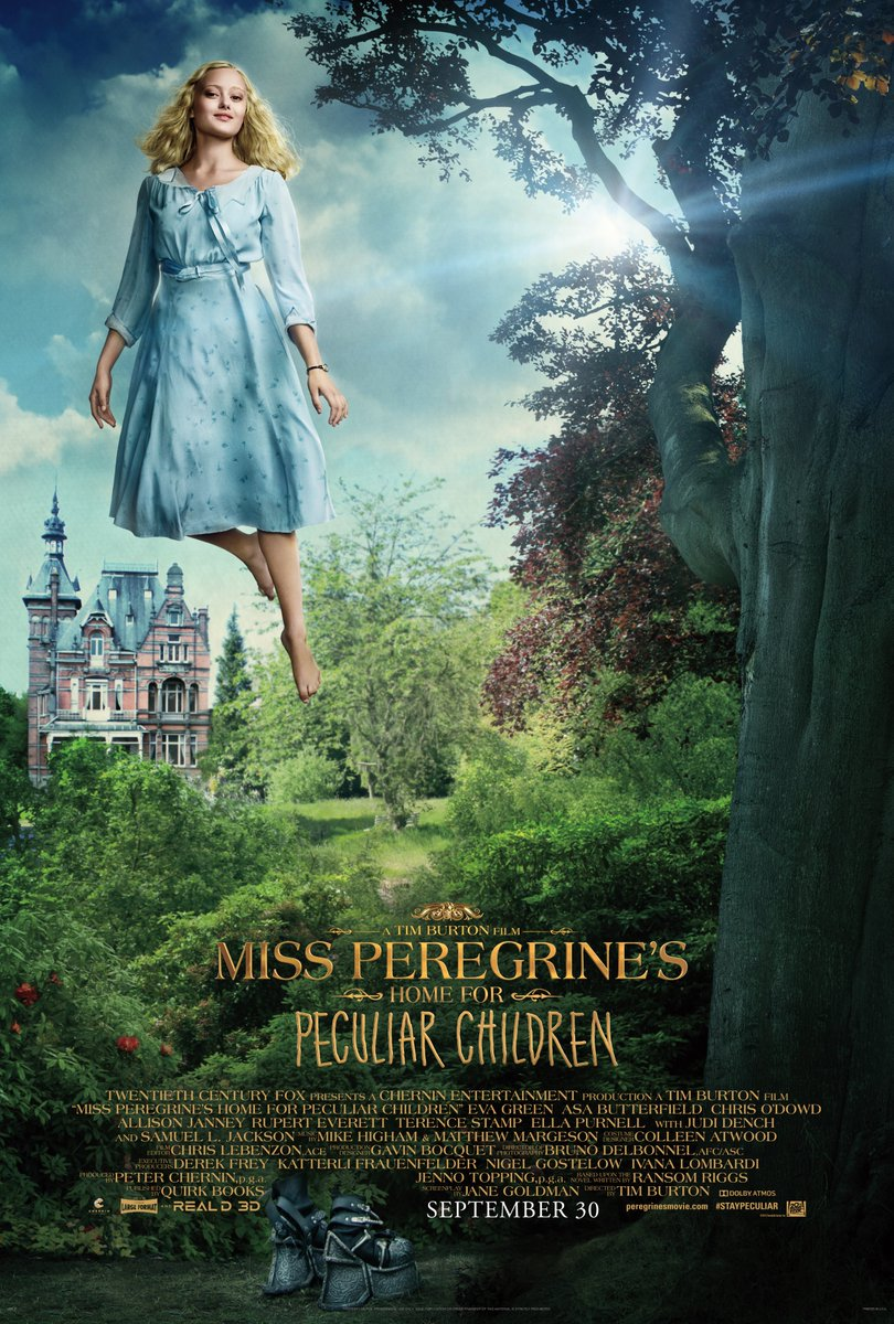 Miss Peregrine's Home for Peculiar Children Character Posters Unveiled 3