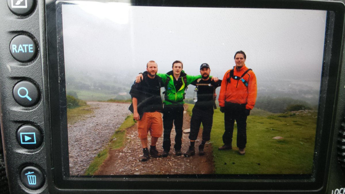 Welsh 3 Peaks Team on Snowden