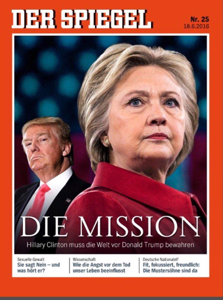 New Der Spiegel Cover Democratic Underground