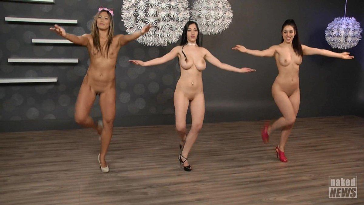 Girls dancing nude on youtube