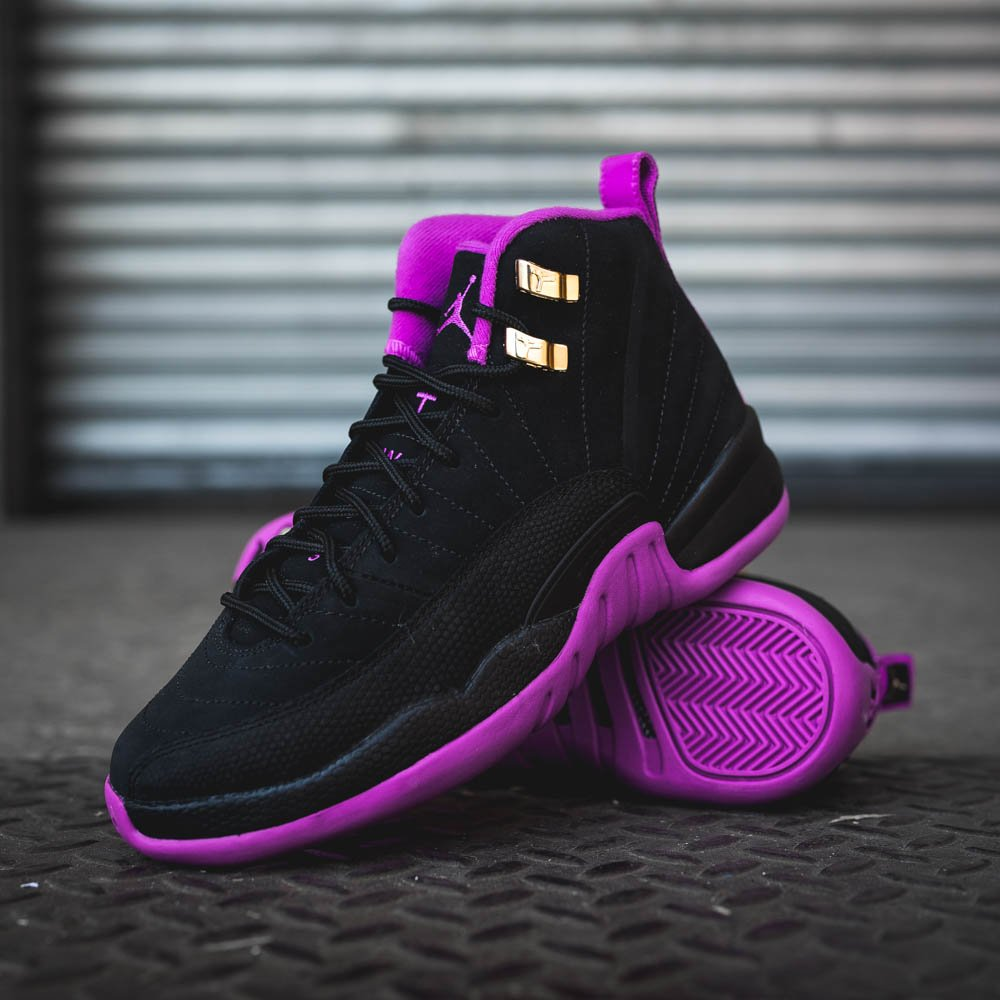 The Air Jordan 12 Retro 'Hyper Violet' now available in select KicksUSA  stores. http://ow.ly/kT5b301hCF8 pic.twitter.com/29bsTcDOAP