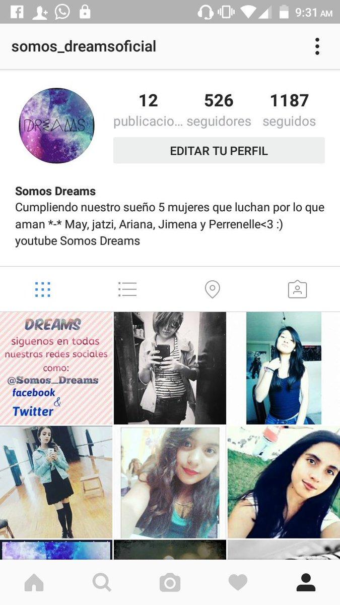 Ya nos pueden seguir en instagram como somos_dreamsoficial https://t.co/pfVksEM7wq