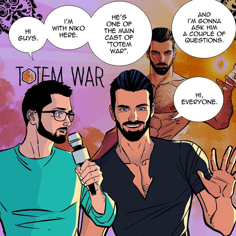 totem war gay comic
