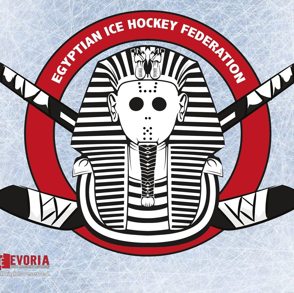 Egypt Has A National Ice Hockey Association Heres Their Logo Yes
