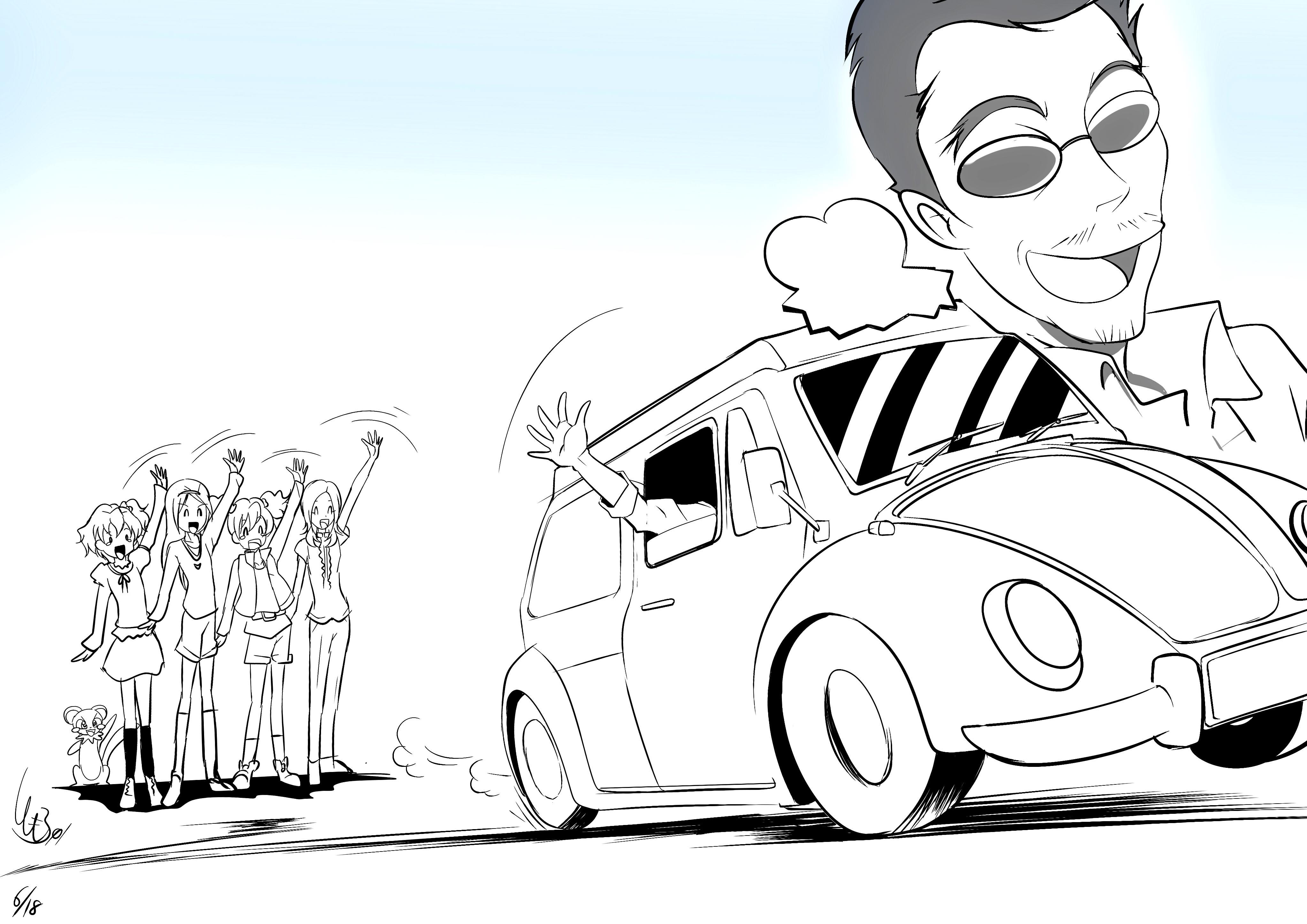 トモナム〈プリキュアLSLアンソロ参加〉 (@Tomorrow01)さんのイラスト