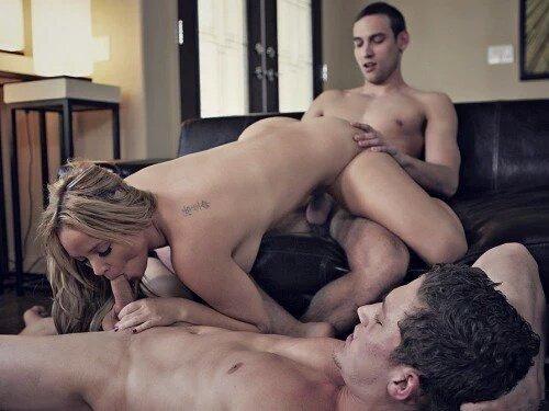 MMF Threesome Porn Pics