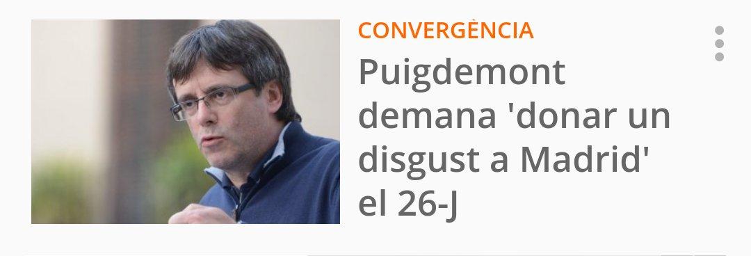 El president Puigdemont vol 'revalidar' la qüestió de confiança