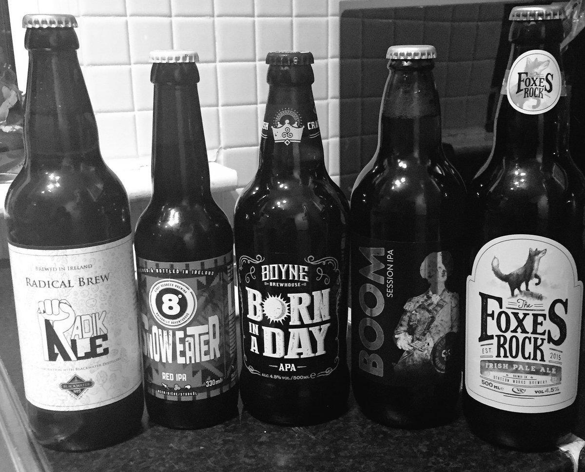 White apron ale - Craftbeerofireland Radik Ale Boyne Brewhouse And 4 Others