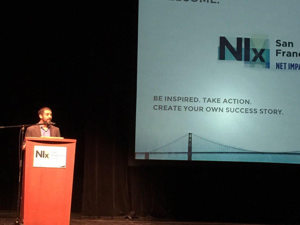 @netimpact #NIxSF for a packed day of motivation and information https://t.co/T3vwr5vRRo